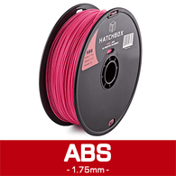 —PINK— HATCHBOX 3D ABS-1KG1.75-PNK ABS 3D Printer Filament,  1 kg Spool, 1.75 mm