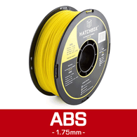 —YELLOW— HATCHBOX 3D ABS-1KG1.75-YLW ABS 3D Printer Filament, 1 kg Spool, 1.75 mm