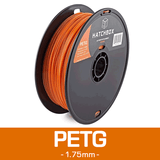 —ORANGE— HATCHBOX 3D PETG-1KG1.75-ORN PETG 3D Printer Filament, 1 kg Spool, 1.75 mm