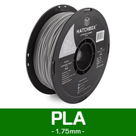 —COOL GREY— HATCHBOX 3D PLA-1KG1.75-CG6C PLA 3D Printer Filament, 1 kg Spool, 1.75 mm