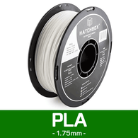 —WHITE— HATCHBOX 3D PLA-1KG1.75-WHT PLA 3D Printer Filament, 1 kg Spool, 1.75 mm