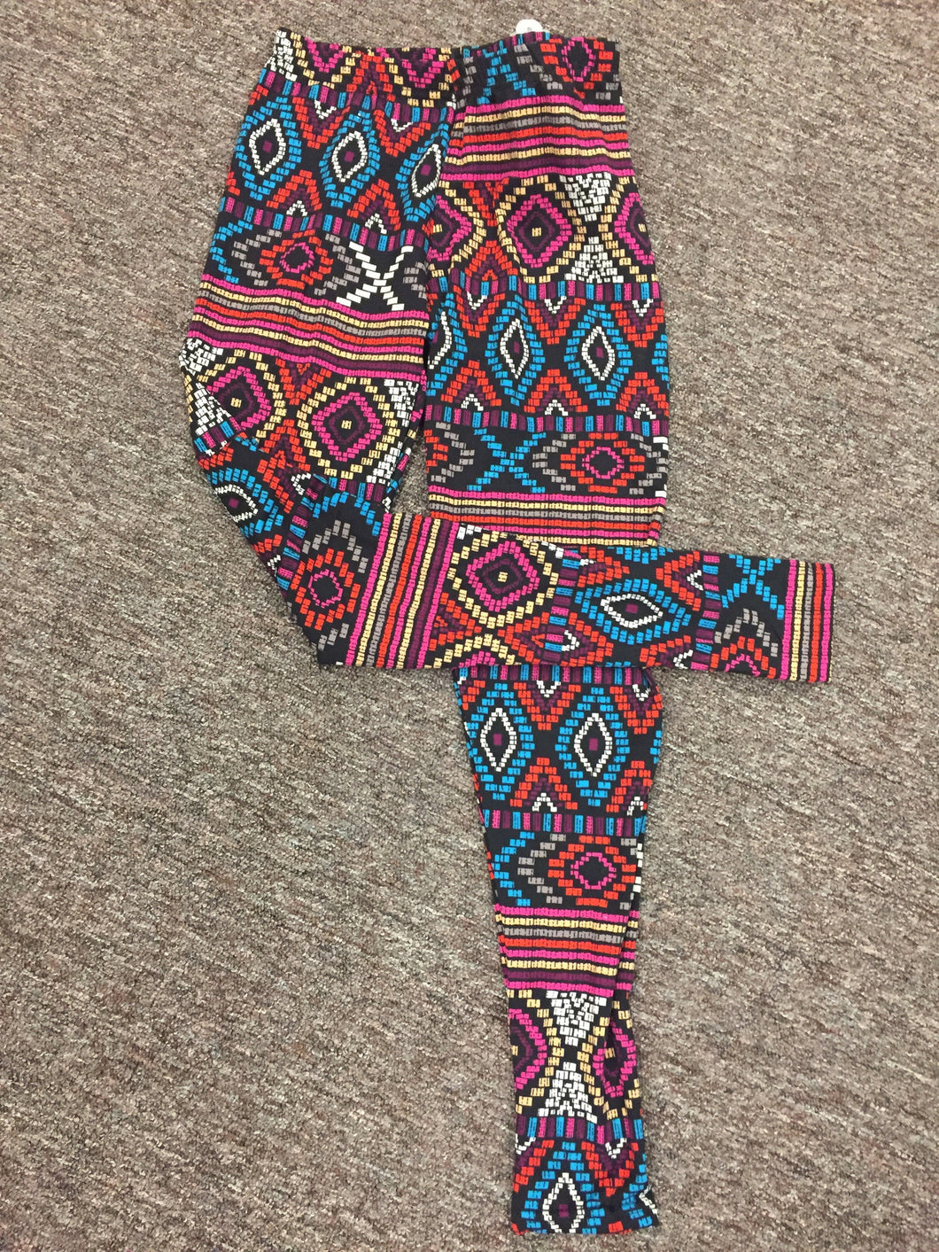 Micro Fleece Multi-color Leggings
