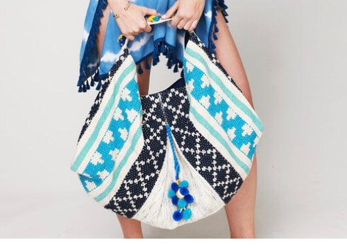 Blue & Gorgeous Large Bag