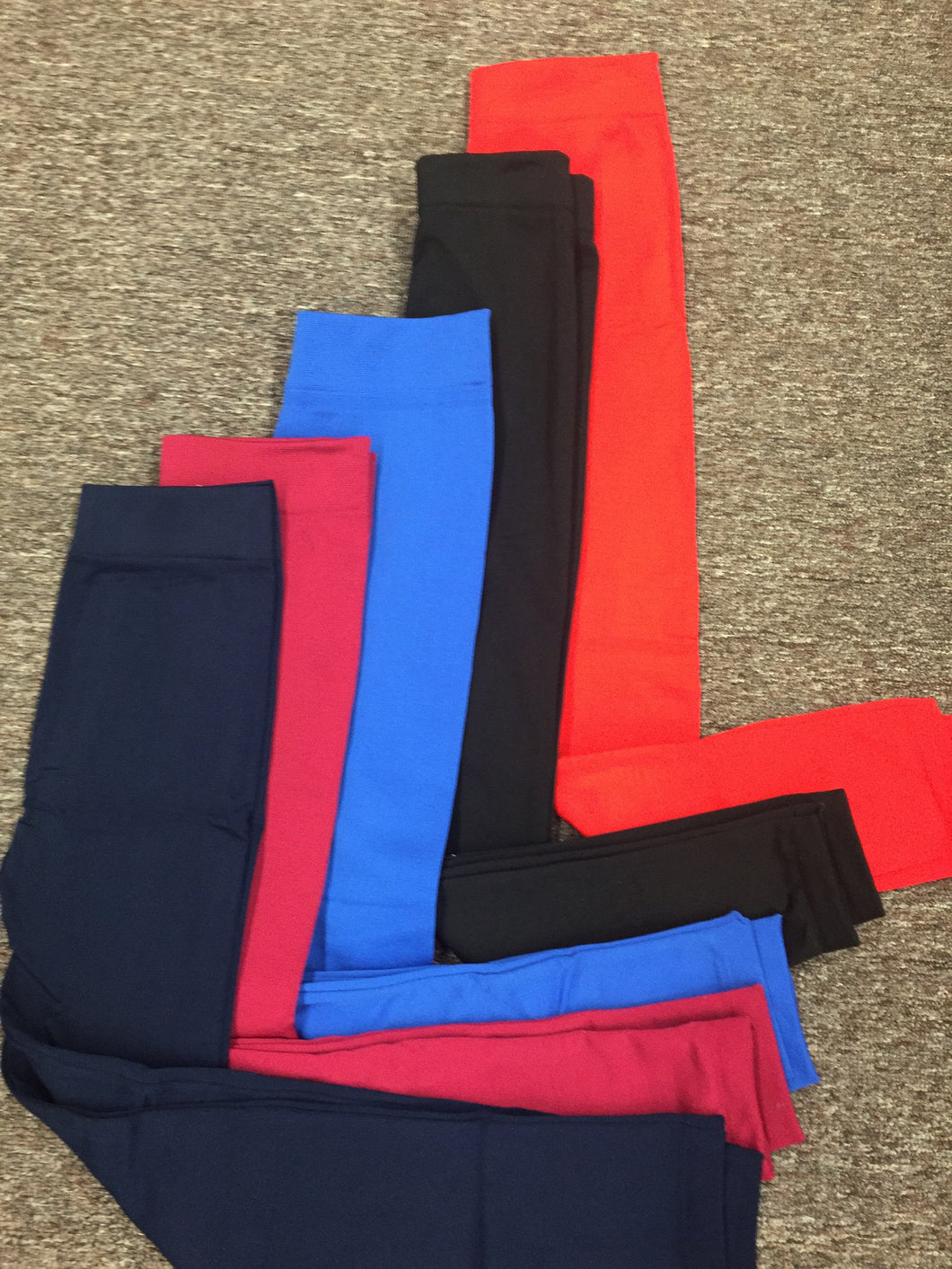 Fleece Lined Leggings Solid Colors