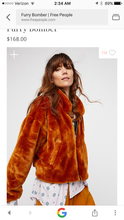 Free People Faux Fur Jacket