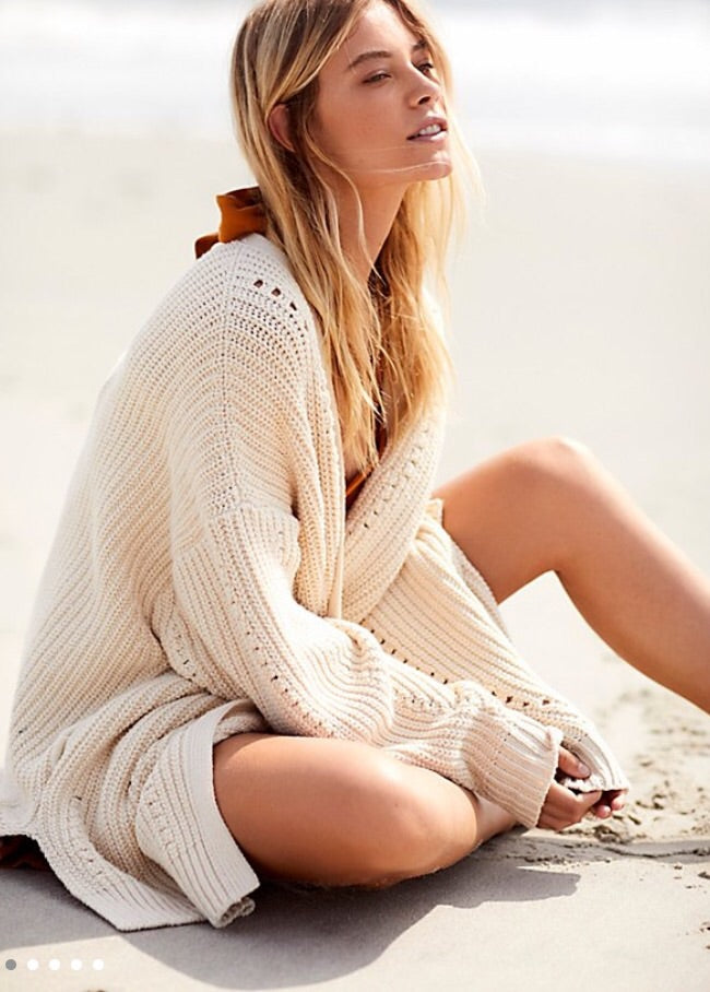 Free People Oversized Cardi