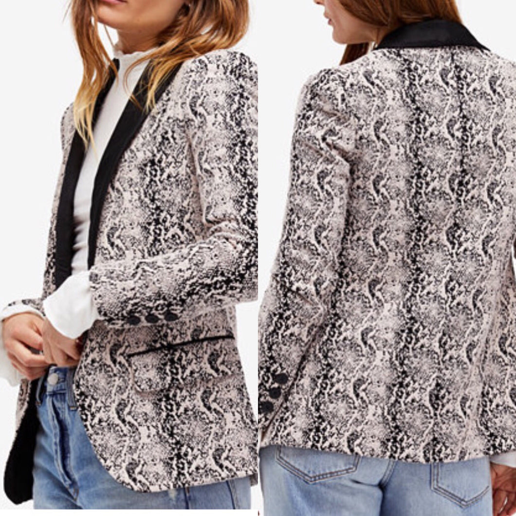 Free People Brocade Jacket