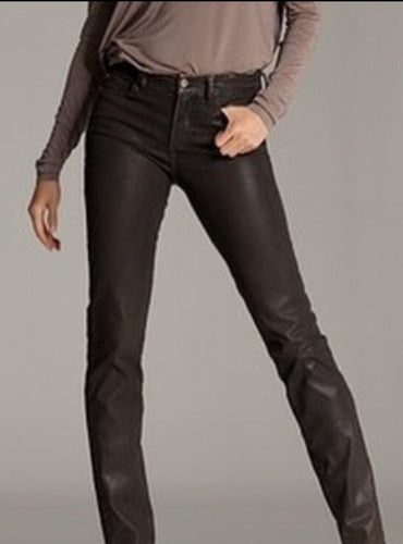 NYDJ Faux Leather Pants