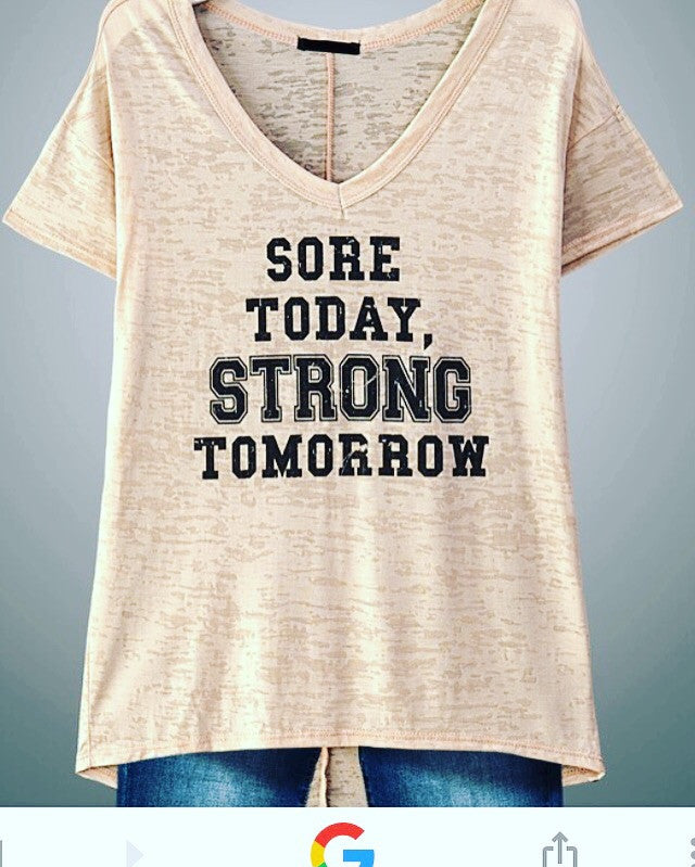 Sore Today Tee