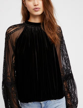Free People Velvet & Lace also Black