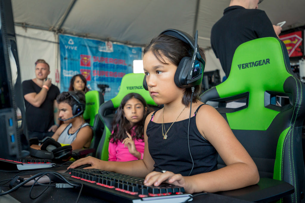 Supergirls Take Gaming by Storm in Oceanside