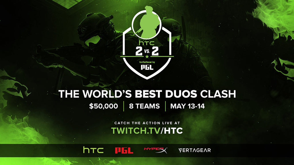 HTC 2v2 Invitational: Final Teams Announced
