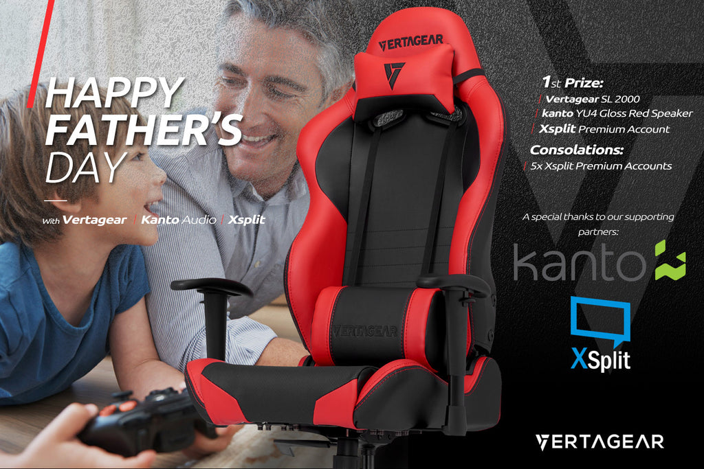 Vertagear celebrates Father's Day with something special for dad