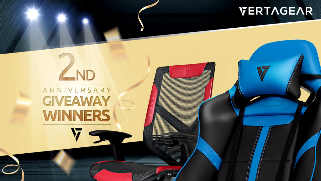 Second Anniversary Gaming Chair Winners!