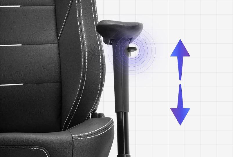 Adjustable 2D Armrests