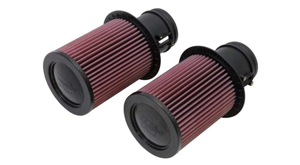K&N Air filters for Audi R8 V10 Gen 1 (2009-2014)