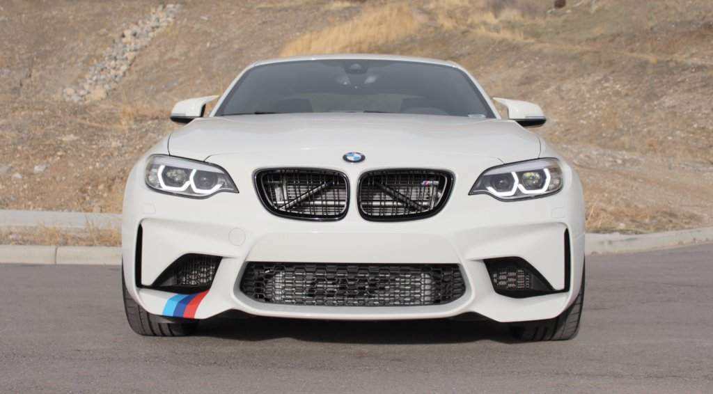 Cooling for F87 M2 RACE-SPEC Intercooler