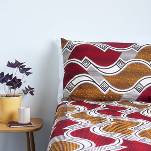 African Print Bedding