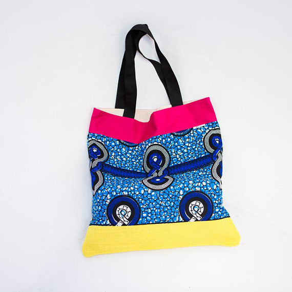 Tote bag - Blue 8 Knot
