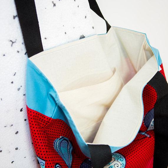 Tote bag  - Red Perfume - Bespoke Binny