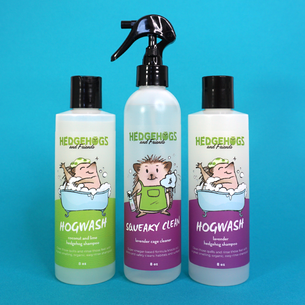 Shampoo & Cage Cleaner Bundle - 8oz