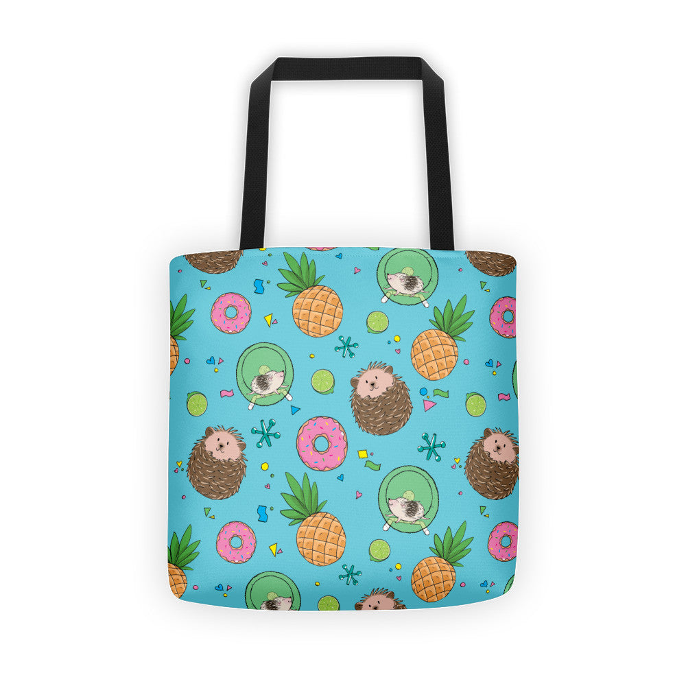 Hedgies, Hooray! Tote bag