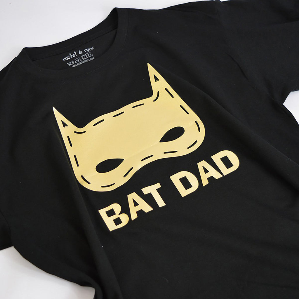 'BAT DAD' Father's Day T-Shirt