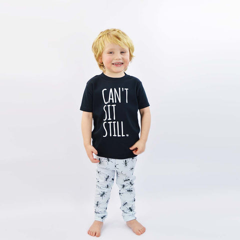 'Ants in Your Pants' Cute Kids T-Shirt & Legs Set