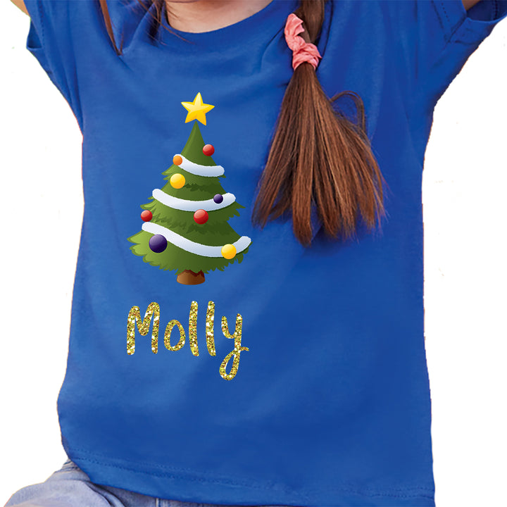 'Christmas Tree' Personalised Christmas T-Shirt