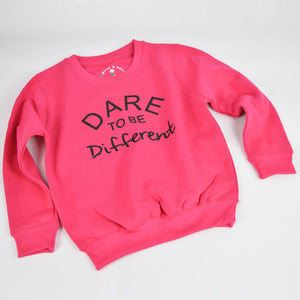 'Dare to be Different' Kids Sweatshirt
