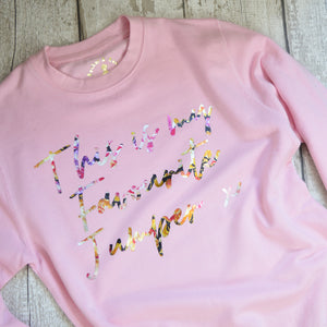 'This is my Favourite Jumper' Slouchy Fit Sweatshirt