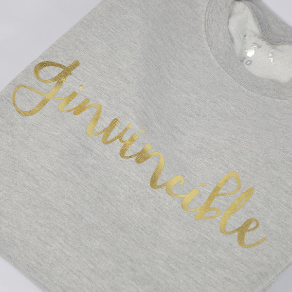 'Ginvincible' Slouchy Fit Adult Sweatshirt
