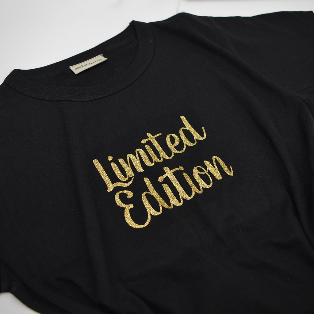 'Limited Edition' Cute Kids Slogan T-Shirt