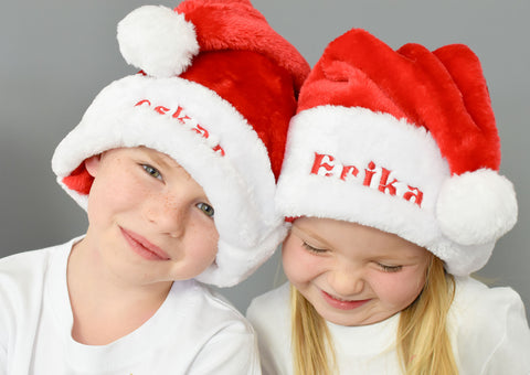 Personalised Luxury Santa Hat in all sizes