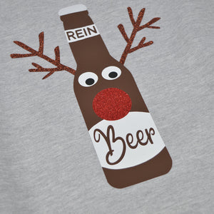 'Rein Beer' Funny Boozy Christmas Jumper