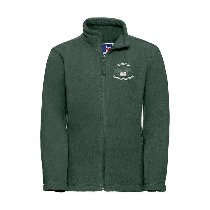 Winkleigh School Embroidered Full Zip Fleece