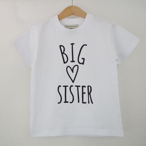 'Big Sister Heart' Cute Kids T-Shirt