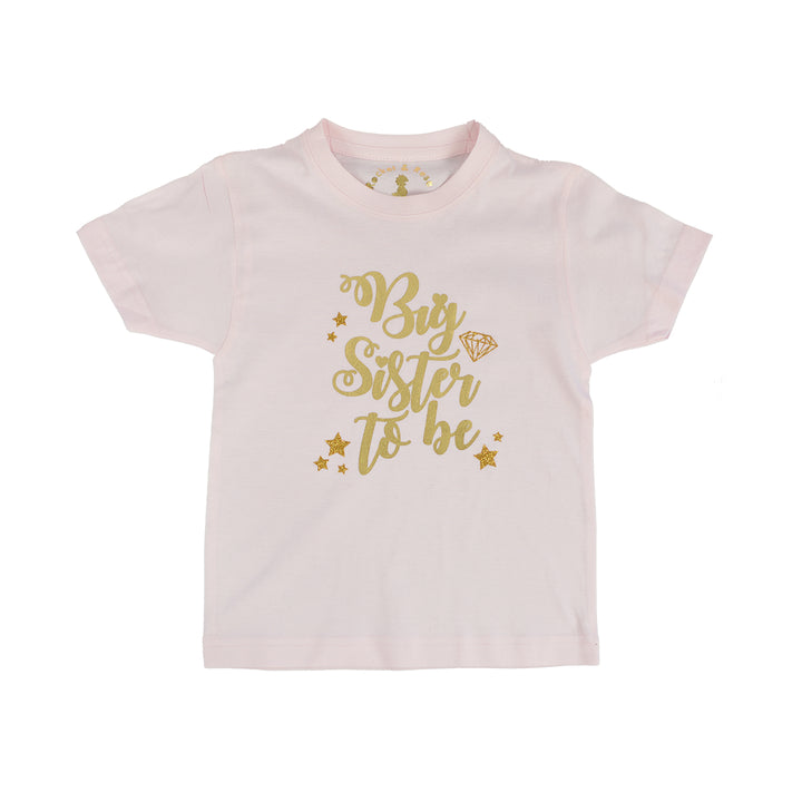 adc8f857 'Big Sister to Be' New Baby Announcment T-Shirt