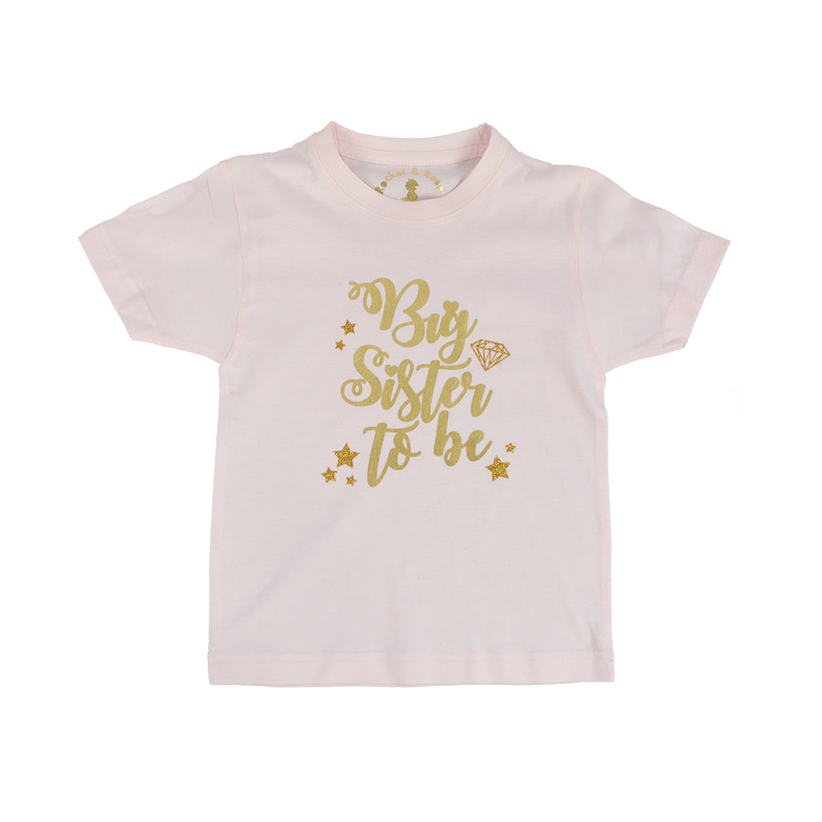 'Big Sister to Be' New Baby Announcment T-Shirt