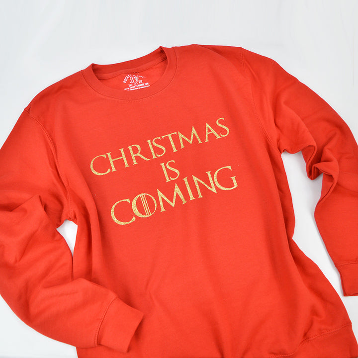 'Christmas is Coming' Slouchy Fit Sweatshirt or T-Shirt