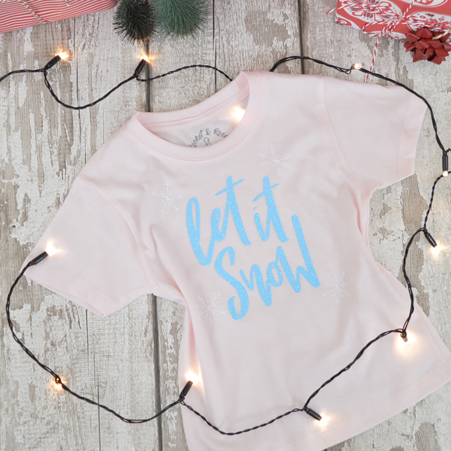 'Let It Snow' Kids T-Shirt