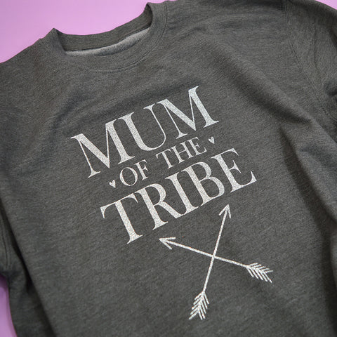 'Mum of The Tribe' Slouchy Fit Sweatshirt