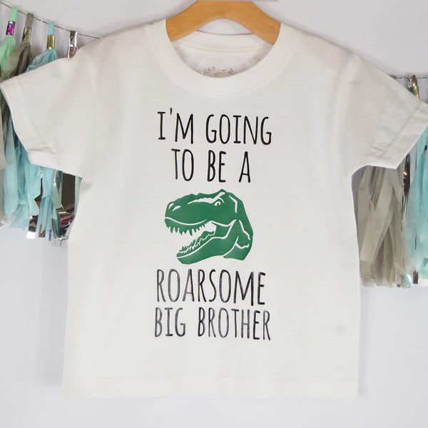 'Roarsome Big Brother' Cute Kids T-Shirt