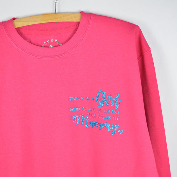 'She Stole My Heart' Slouchy Fit Adult Sweatshirt