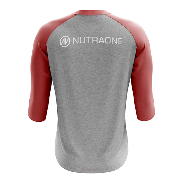 Gray Star Tri-Blend 3/4 Sleeve NutraOne