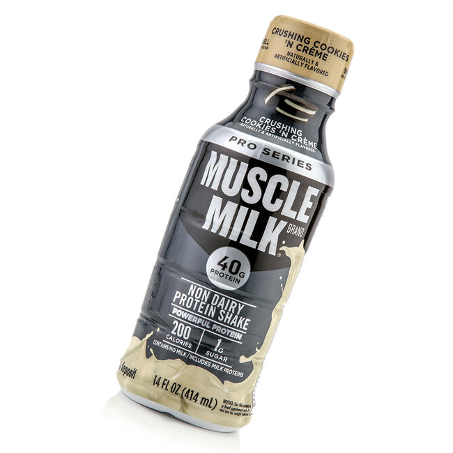 Product Photo Of A Bottle Of Muscle Milk