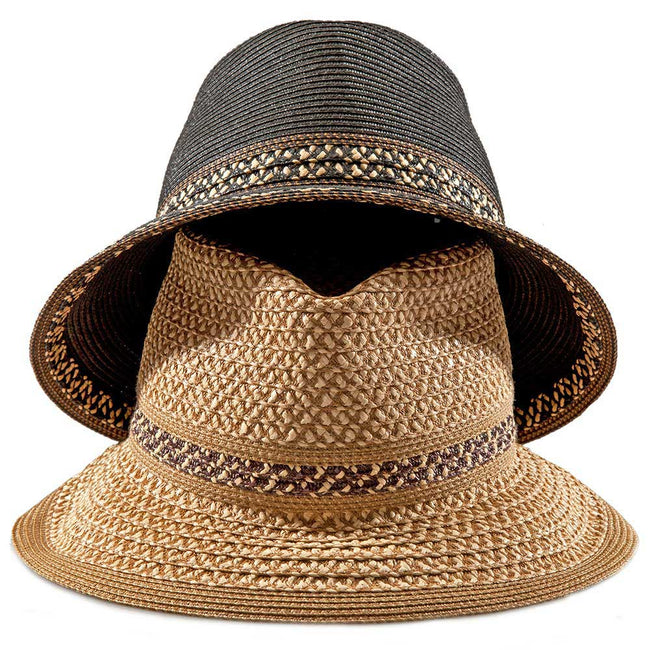 Product Photography Of 2 Straw Hats