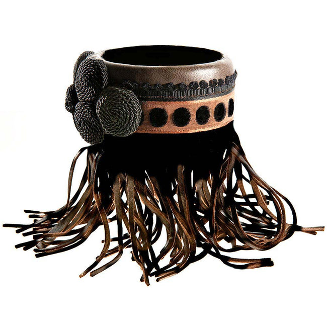 Product Photo Of A Leather Cuff Accessory