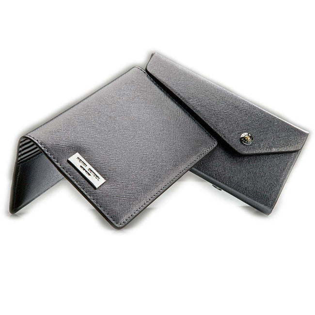 Product Photography Of Bendells Black Leather Wallets