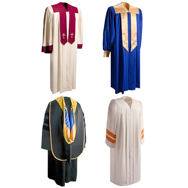 Product Photo Grouping Of Graduation Gowns